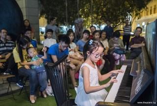 Pianovers Meetup #83, Huang Zimo performing