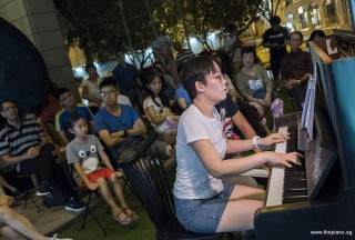 Pianovers Meetup #83, Grace Wong performing
