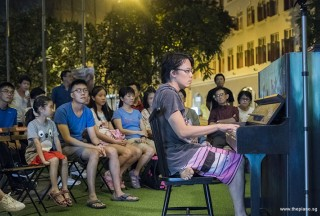 Pianovers Meetup #83, Teh Yuqing performing