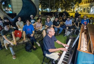 Pianovers Meetup #84, Henry Wong performing