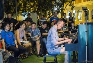Pianovers Meetup #84, Teik Lee performing for us