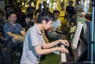 Pianovers Meetup #84, Jonathan Lam performing
