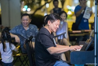 Pianovers Meetup #84, Gee Yong performing