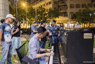 Pianovers Meetup #84, Teik Lee playing