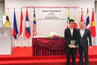 ThePiano.SG @ 6th Meeting of Governors/Mayors of ASEAN Capitals, Ma Yuchen, and Sng Yong Meng