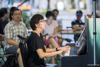 Pianovers Meetup #85, Siew Tin performing