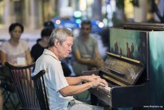 Pianovers Meetup #85, Albert performing
