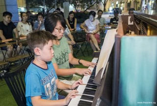 Pianovers Meetup #85, Lucas McCallum, and Chng Jia Hui performing
