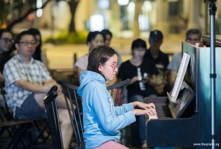 Pianovers Meetup #85, Lauren McCallum performing
