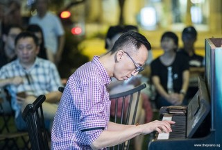 Pianovers Meetup #85, Teik Lee performing