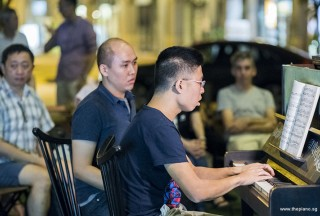 Pianovers Meetup #85, Jeremy Foo performing