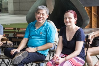 Pianovers Meetup #86, Adrian Huang, and Mehmet's wife