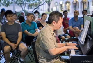 Pianovers Meetup #86, Gavin Koh performing