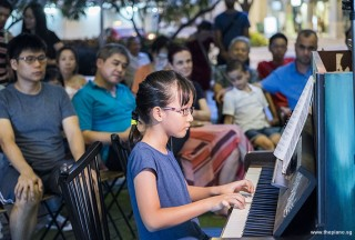 Pianovers Meetup #86, Grace Pang performing