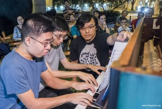 Pianovers Meetup #86, Jeremy Foo, and Jonathan Lam performing
