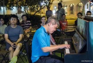 Pianovers Meetup #86, Adrain Huang performing