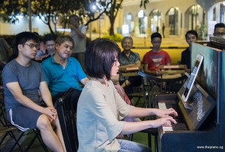 Pianovers Meetup #86, Rowen Wong performing