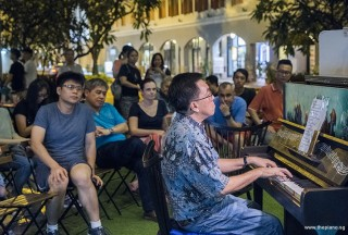 Pianovers Meetup #86, Chris Khoo performing