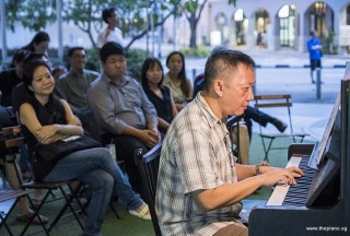 Pianovers Meetup #87, Gavin Koh performing