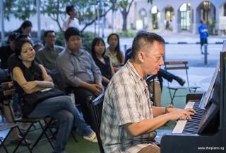 Pianovers Meetup #87, Gavin Koh performing