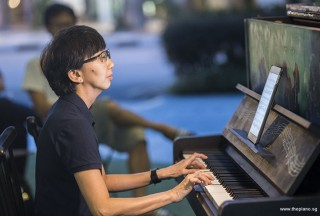 Pianovers Meetup #87, Siew Tin performing