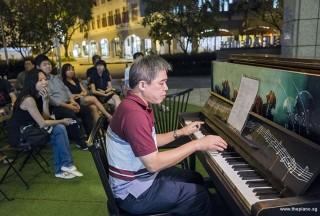Pianovers Meetup #87, Adrian Huang performing