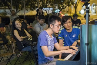 Pianovers Meetup #87, Kenneth Guan performing