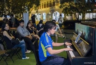 Pianovers Meetup #87, Teh Yuqing performing