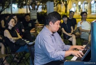 Pianovers Meetup #87, John performing