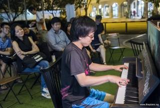 Pianovers Meetup #87, Hiro performing