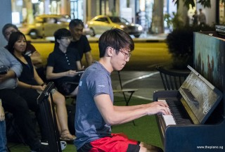 Pianovers Meetup #87, Gregory Goh performing