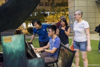 Pianovers Meetup #87, Kenneth Guan playing