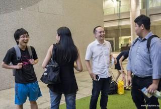 Pianovers Meetup #87, Hiro, Giavonnie, Yong Meng, and John