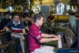 Pianovers Meetup #88 (NDP Themed), Rony Ang performing