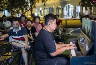 Pianovers Meetup #88 (NDP Themed), John performing
