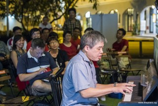Pianovers Meetup #88 (NDP Themed), Adrian Huang performing