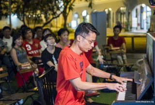 Pianovers Meetup #88 (NDP Themed), Gan Theng Beng performing