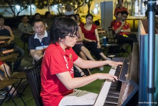 Pianovers Meetup #88 (NDP Themed), Teh Yuqing performing