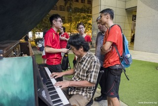 Pianovers Meetup #88 (NDP Themed), Mr Tan playing