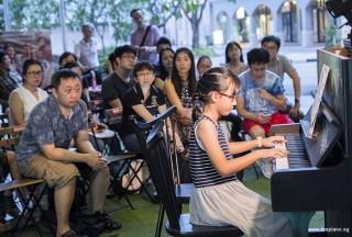 Pianovers Meetup #89, Grace Pang performing