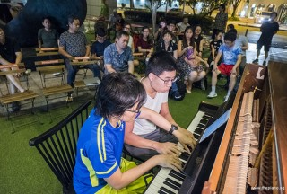 Pianovers Meetup #89, Teh Yuqing, and Jeremy Foo performing