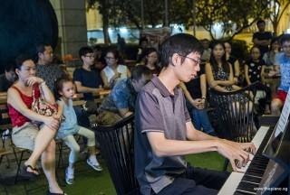 Pianovers Meetup #89, Jonathan Lam performing