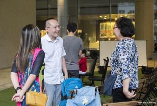 Pianovers Meetup #90, Novita, Yong Meng, and Gwen's Grandmother