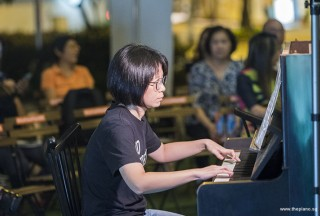 Pianovers Meetup #90, Rowen Wong performing