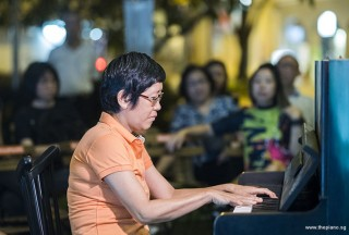 Pianovers Meetup #90, Lim Ee Fong performing