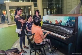 Pianovers Meetup #90, Sukanya, May Ling, Rowen Wong, and Lim Ee Fong
