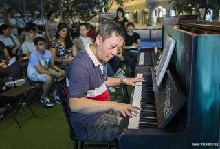 Pianovers Meetup #91, Gavin Koh performing