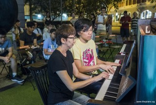 Pianovers Meetup #91, Siew Tin, and Teh Yuqing performing