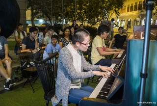 Pianovers Meetup #91, Grace Wong, and Teh Yuqing performing