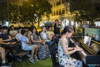 Pianovers Meetup #91, Janice Liew performing